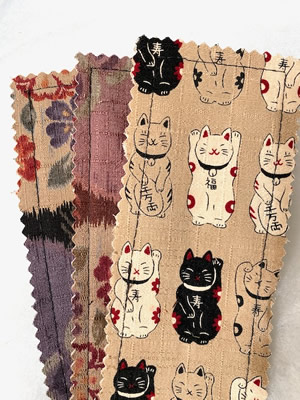 Beige Cats Bookmark