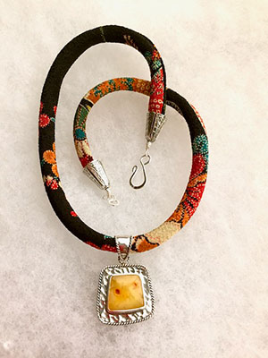 Amber Chirimen Necklace