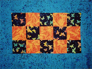 Midnight Butterfly Quilt